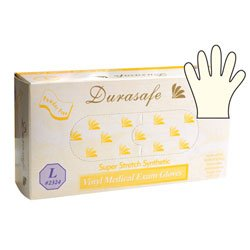 Durasafe Yellow Vinyl Stretch Exam - Small
