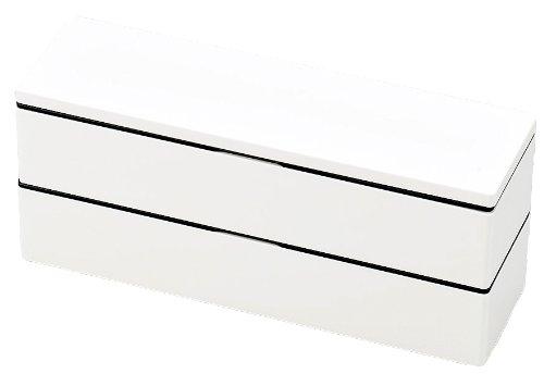 HAKOYA mode color Men's Slim bunk lunch mode White 50328 (japan import)