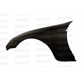 (Seibon 1993-1998 TOYOTA SUPRA 10MM WIDER FENDERS Carbon Fiber Fenders (FF9398TYSUP ))