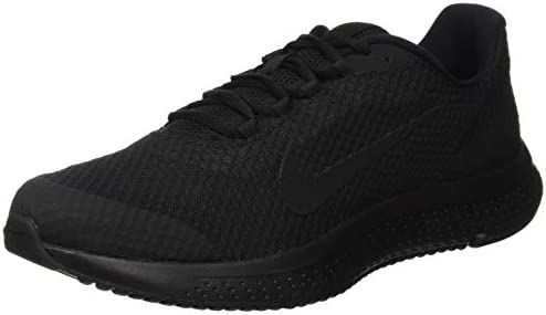 solid black mens nike shoes