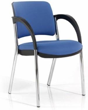 4 patas gris poliamida silla auxiliar tapizada signo 01