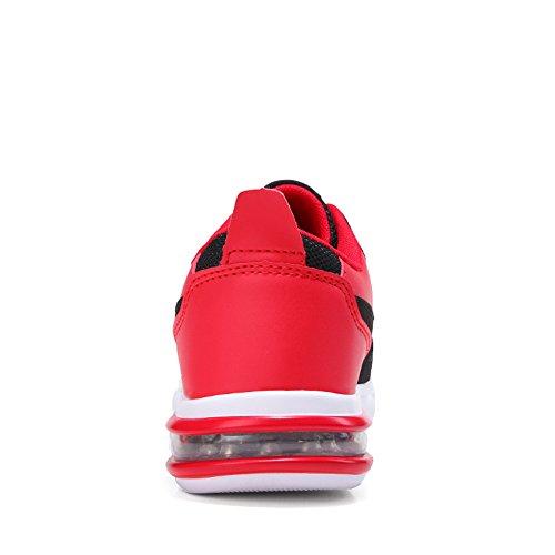 Scarpe e Leggere Uomo Trail Scarpe da Ginnastica Rosso da Traspiranti Scarpe da da Running Passeggio Cricket Moda da Casual atletiche Scarpe w8FxXZ1qf