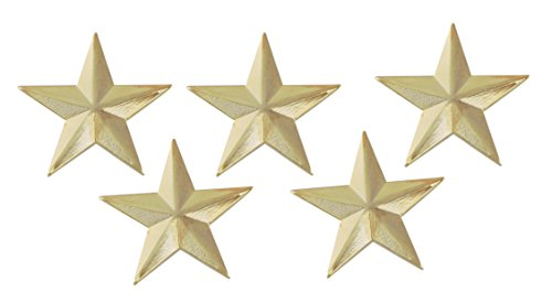 Forge 3D 5 Point Gold Star Lapel Pin (5 ()