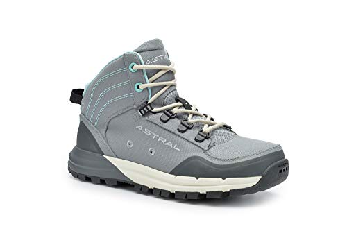 Astral Women's TR1 Merge Minimalist Hiking Boots, Quick Drying and Lightweight, Made for Camping and Backpacking, Granite Gray, 8.5 M US