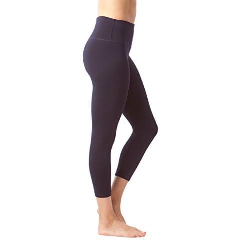 fa84bd3026fdb 90 Degree By Reflex – High Waist Tummy Control Shapewear – Power Flex Capri  - Fig