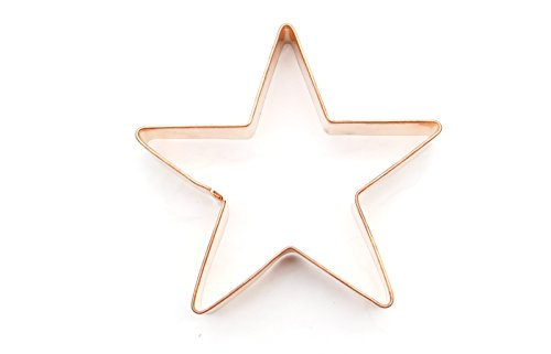 ShengHai Copper Star Cookie Cutter - Favorite Holiday Star Cookie Mold