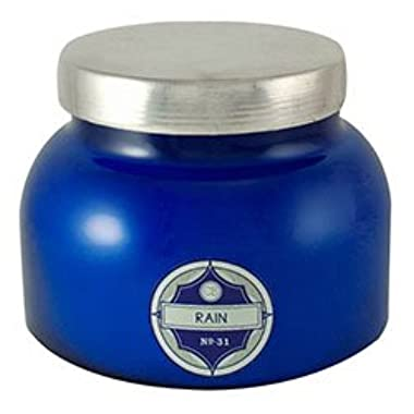 Aspen Bay Capri Blue Signature Jar Blue 20 oz, Rain