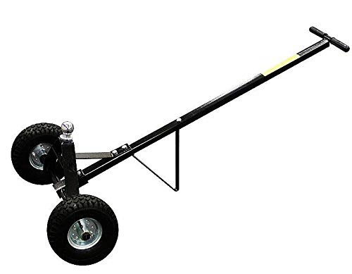 9TRADING 600Lb Trailer Dolly Boat Cargo Utility Tow Hitch Ball Towing Hauling RVs Trucks