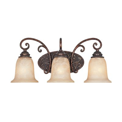 Designers Fountain 97503-BU Amherst 3 Light Bath - 3 Light Vanity Umber