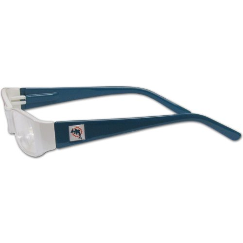 NFL Team Color Reading Glasses (+1.50, M - Dolphins Black Frame Sunglasses Shopping Results