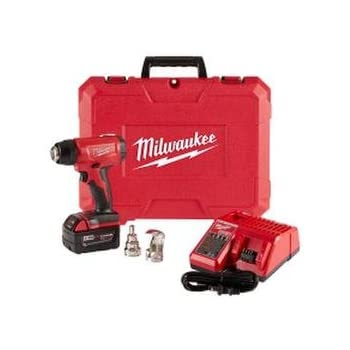 milwaukee electric tool milwaukee 2688 20 cordless heat gun  milwaukee electric tools 2688 21 m18 heat gun kit