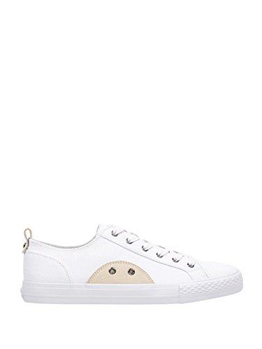 Denk Dat Heren Originelen Provo Low-top Sneakers Witte Multi-stof