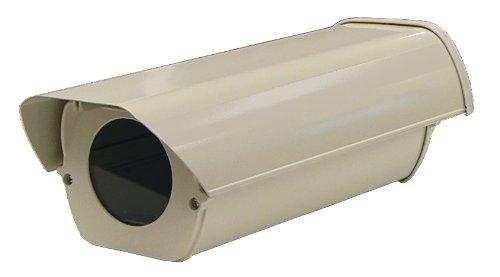 Clover Security Cameras - Clover Electronics HS13HB Outdoor Security Camera Housing - Small (Cream)