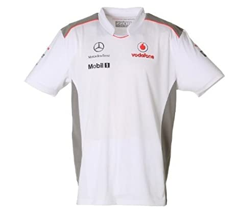 McLaren 2012 Equipo Camiseta (pequeño): Amazon.es: Deportes y aire ...