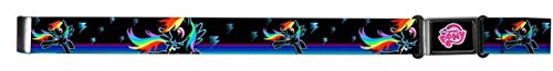 My Little Pony 80's Toy Black Rainbow Dash Magnetic Web Belt