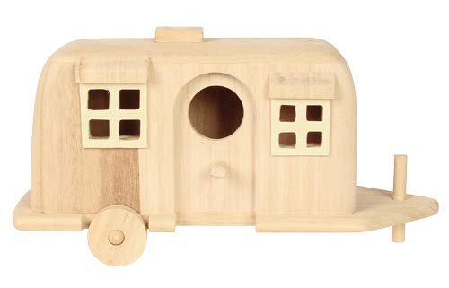 (Factory Direct Craft Unfinished Wood Camper)