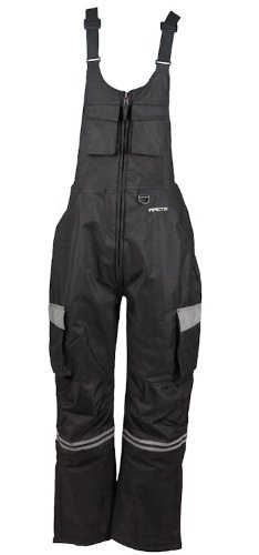 - Arctix 8002-00-L Men's Overalls Tundra Bib With Added Visibility, Large, Black