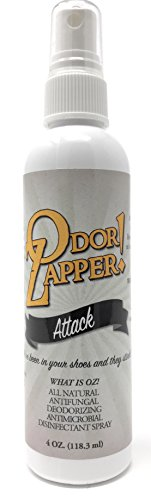 Odor Zapper Disinfectant Spray - For use in Shoes, Gym Bags, Yoga Mats, Kid's Cars and More!''Aggressive Pack'' 3 Pack, 4oz bottles by Odor Zapper - ''OZ!'' (Image #8)