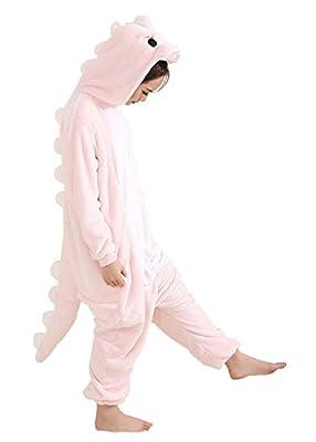 Leavelive Dinosaur Kigurumi Cute Animal Costume Adult Onesie Pajama