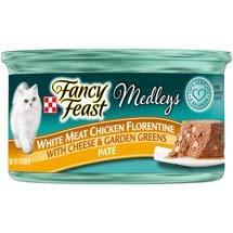 6 Cans of Purina Fancy Feast Medleys White Meat Chicken Pate