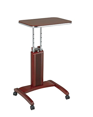 Office Star Precision Precision Laptop Stand - Light Cherry