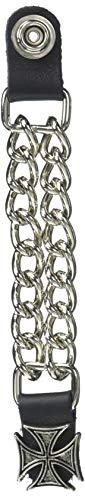Hot Leathers Unisex-Adult Iron Cross Vest Extender (Silver, 4