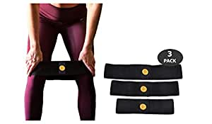 RA FITNESS Hip Resistance Band - Exercise Hip Bands for Legs and Butt Workouts, Non Slip Design