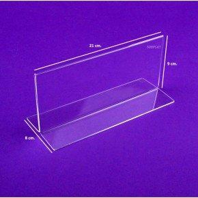 Display Metacrilato Base Recta ECONOMY: Amazon.es: Oficina y ...