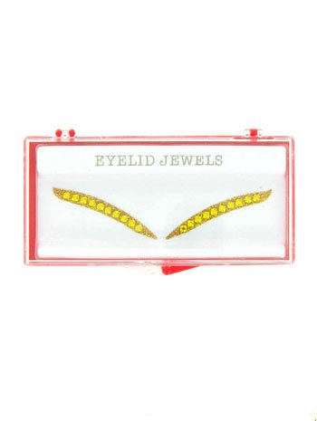 Eyelid Jewels - Gold Glitter Eyelid Jewels - ONE SIZE