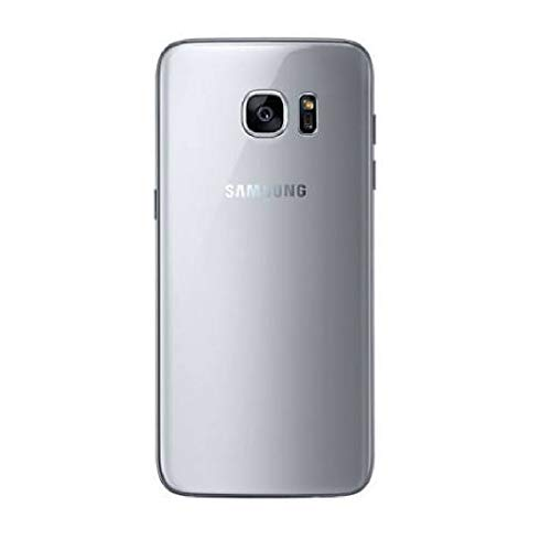 Gangshop Back Replacment for Samsung Galaxy S7 Edge  Silver
