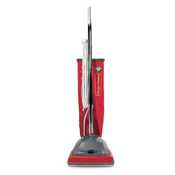 (Electrolux Sanitaire Commercial Standard Upright Vacuum, 19.8 lbs, Red/Gray - one upright vacuum cleaner.)
