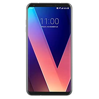LG V30 - H932-64GB Dual Camera 4G LTE - Silver - T-Mobile (Renewed)