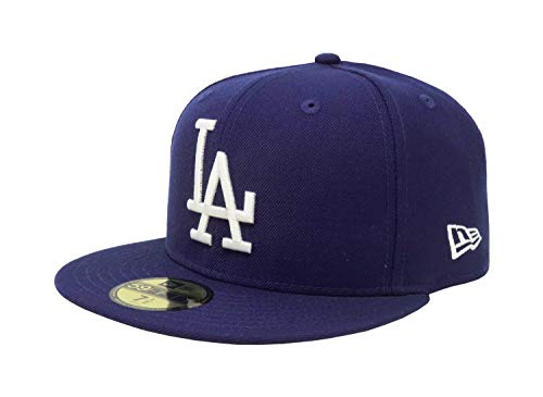 New Era 59Fifty Hat Los Angeles Dodgers LA Cooperstown 1958 Wool Fitted Cap (7) ()