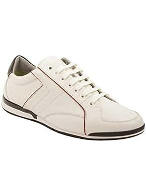 BOSS Hugo Saturn Sneaker Shoes For Men  White - 45 EU