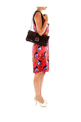 Borse a Spalla Miu Miu Donna Pelle Nero RR1921NERO Nero 6x16x33 cm