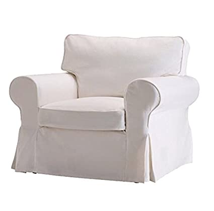 Superbe Replace Cover For IKEA Ektorp Armchair, 100% Cotton Sofa Cover For Ektorp  Chair (