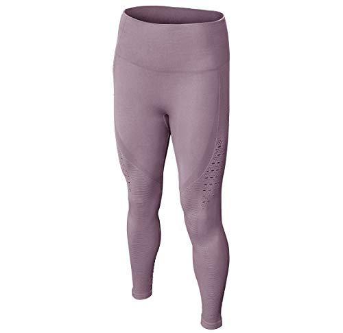 Dutte Dutta Womens Yoga Pants Breathable Hollows Elastic Workout Sports Leggings L]()