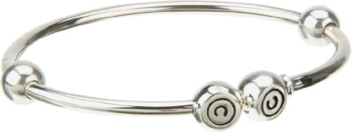 Authentic Chamilia Sterling Silver Large Solid Bangle (21 cm / 8.2 in) 1012-0120 (formerly BB-4A)