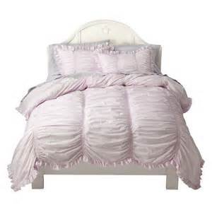 Simply Shabby Chic Smocked Pink Duvet Cover Set TWIN (Simply Shabby Chic Bedding)
