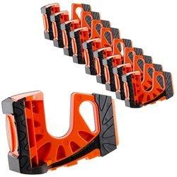 10-Pack Wedge-It Ultimate Door Stop - Orange by Wedge-It