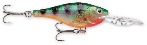 Cheap Rapala Glass Shad Rap 04 Fishing lure, 1.5-Inch, Glass Perch