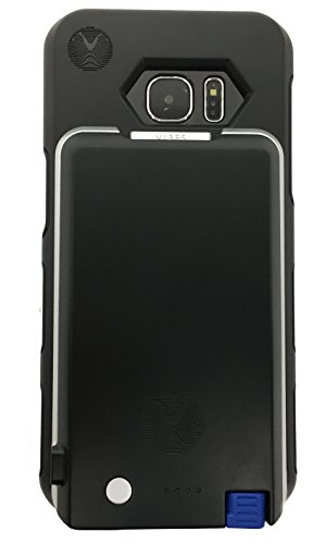 Samsung Galaxy S7 Edge Battery Case with Removable Micro USB Battery Pack by Vibes Modular (Black)