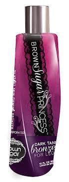 Brown Sugar Princess Silk Soft Skin Firming Bronzer 4 Legs 10 oz by TAN ()
