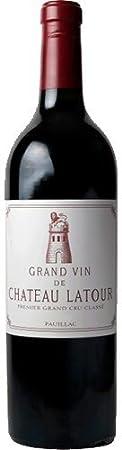 2001 Grand Vin de Chateau Latour Premier Cru Classe. Pauillac/Francia. Cabernet Sauvignon blend. Vino Tinto.