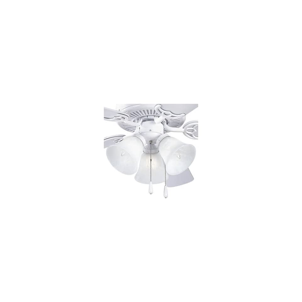 Air Pro Transitional White Ceiling Fan Light Kit Progress Lighting P2600 30