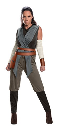 Sci Fi Costume (Rubie's Star Wars Episode VIII: The Last Jedi Women's Rey Costume  As Shown )