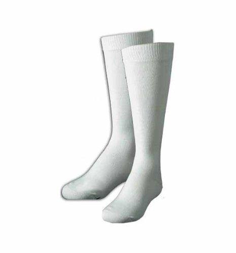 Terramar Kid's Thermasilk Sock Liners, White, Small