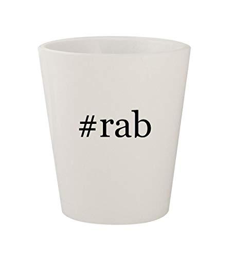 (#rab - Ceramic White Hashtag 1.5oz Shot Glass)