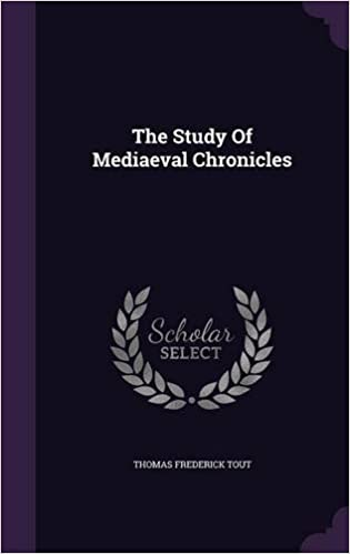 Book The Study Of Mediaeval Chronicles
