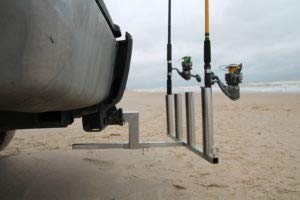 Bunker Up Fishin Trailer Hitch Adjustable Fishing Pole Holder